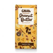 Gnaw Organic  Peanut Butter Milk Chocolate Bar